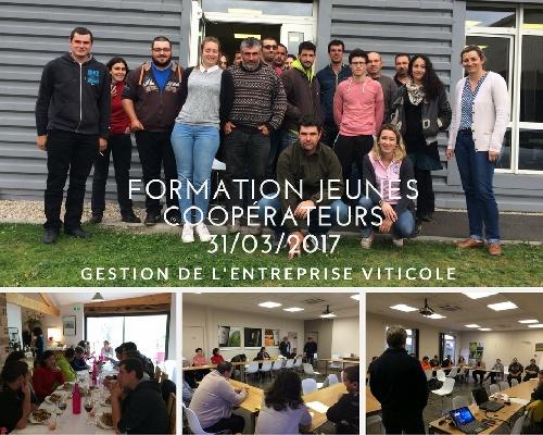 FORMATION JEUNES COOPERATEURS VIGNERONS DE TUTIAC
