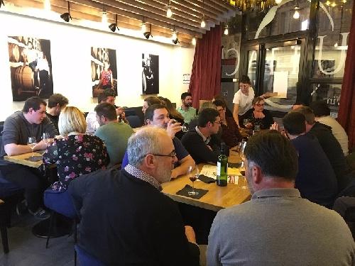 Soirée Jeunes Vignerons Coopérateurs Tutiac Wine Bar