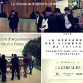 illustration : La Gerbaude 2017 organisée par les Jeunes Coopérateurs